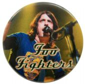 Foo Fighters - 'Dave Stage' Button Badge